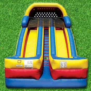 rent this for dual lane bounce house fun